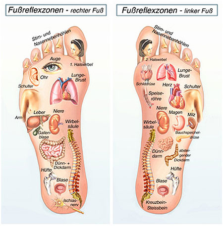 Fußreflexzonenmassage in Dresden Cotta 🥇Physiotherapie Balance